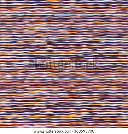 Abstract noisy striped space dye. Seamless pattern. - stock photo