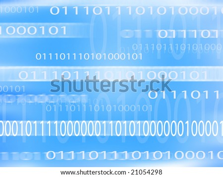 abstract number background