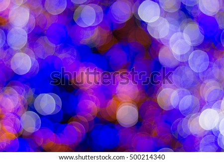 Abstract of a colorful christmas tree