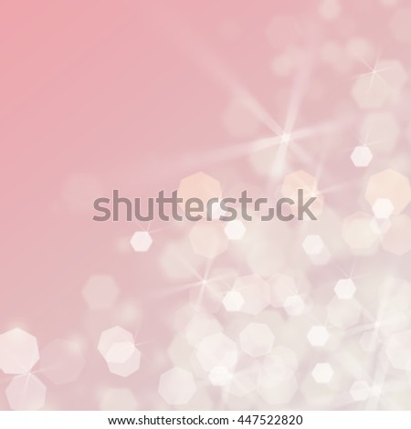 Abstract of bokeh-blurred. pink light background