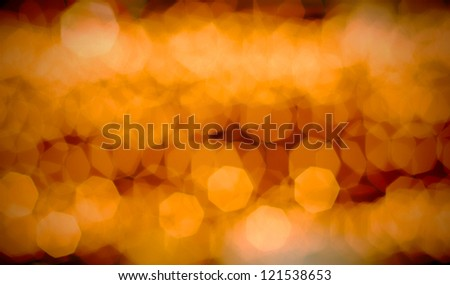 abstract of bokeh for background