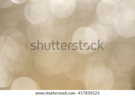 Abstract of Bright and sparkling bokeh background. golden bokeh -blurred lighting texture.