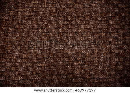 abstract of brown fabric texture for background used