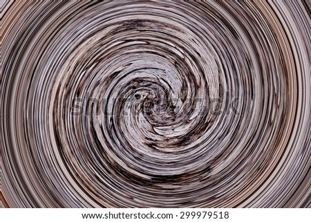 abstract of colorful spiral for background used - stock photo