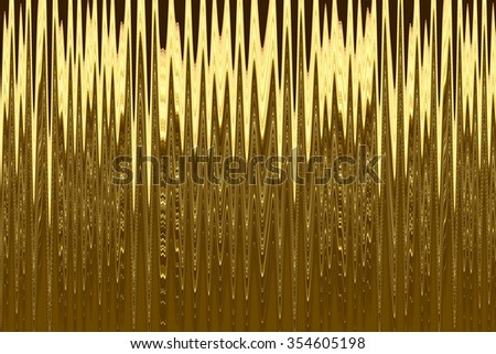 Abstract of many narrow jagged waves, like a region of the electromagnetic spectrum, for decoration and background with motifs of energy, transmission, frequency and repetition - stock photo