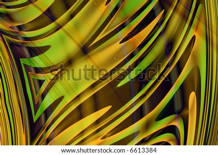 Abstract of tiger stripes - stock photo