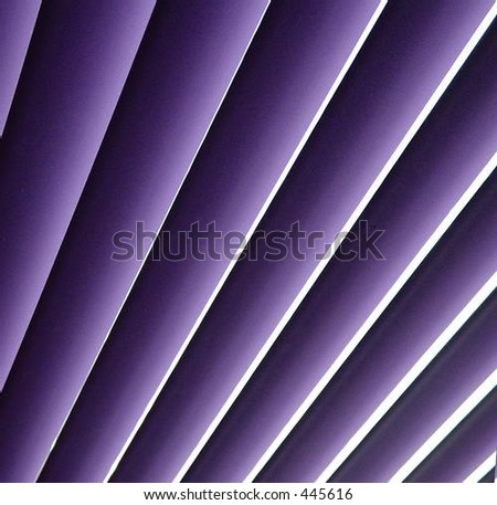abstract of venetian blinds - stock photo