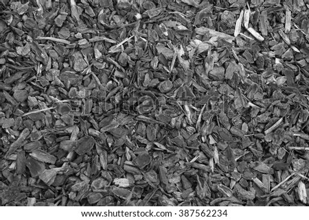 abstract of wood chip for background used - stock photo