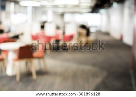 Abstract office blur background the connection zone - stock photo