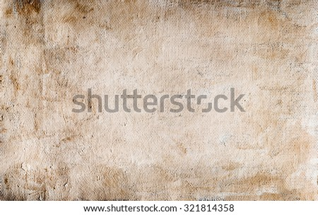 Abstract oil paint on canvas background - stock photo