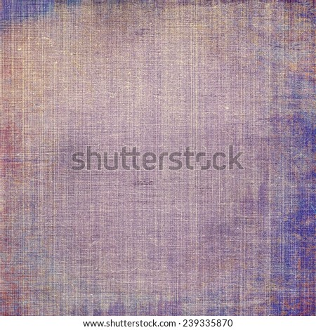 Abstract old background or faded grunge texture. With different color patterns: blue; purple (violet); brown - stock photo