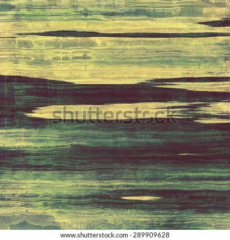 Abstract old background or faded grunge texture. With different color patterns: yellow (beige); gray; blue; green - stock photo