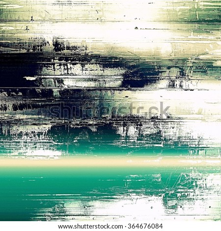Abstract old background or faded grunge texture. With different color patterns: yellow (beige); black; blue; green; white - stock photo