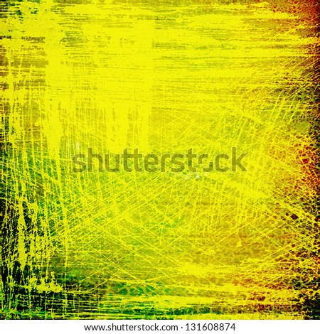 Abstract old background with grunge texture. For art texture, grunge design, and vintage paper or border frame - stock photo
