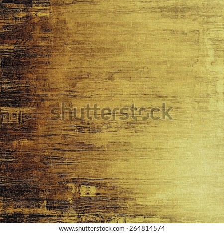 Abstract old background with rough grunge texture. With different color patterns: yellow (beige); brown; gray - stock photo