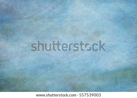 Abstract old blue paper vintage background