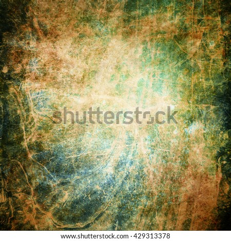 Abstract old grunge brown wall background