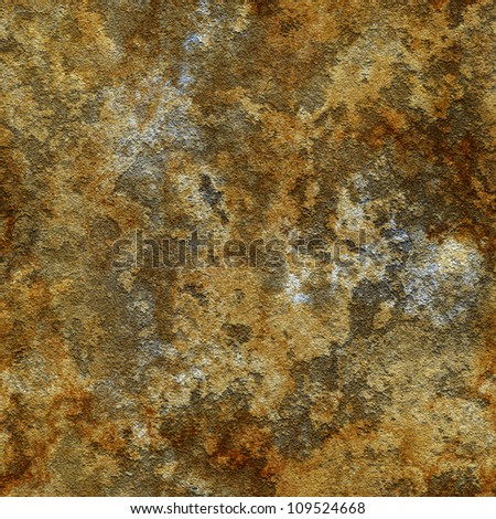 Abstract old plaster concrete wall texture. Seamless tiling. Illustration. - stock photo