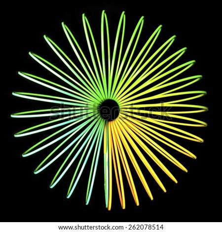 Abstract Optical Illusion - stock photo