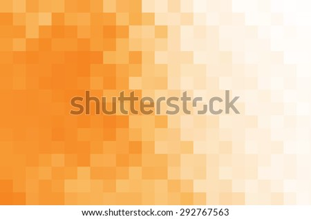 Abstract orange and white background.