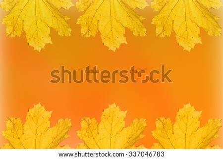 abstract orange autumn tone wallpaper background, texture