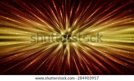 abstract orange background. explosion star.