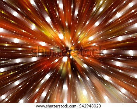 Abstract orange background. Explosion star. illustration digital.