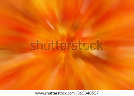 abstract orange background. fractal explosion star with gloss and lines
