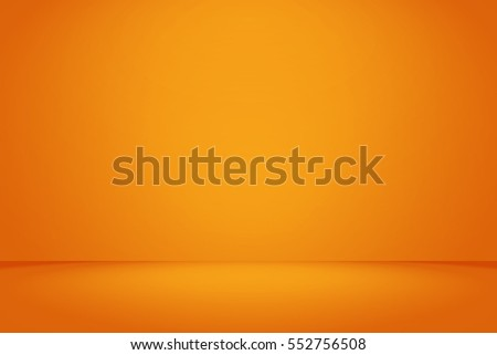 Abstract Orange background Halloween layout design,studio,room, web template ,Business report with smooth circle gradient color.