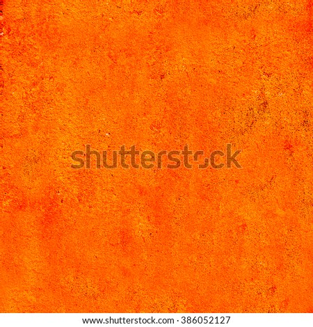 abstract orange background paper texture . Painting the wall