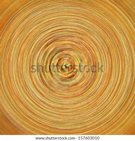 Abstract orange background - radial pattern