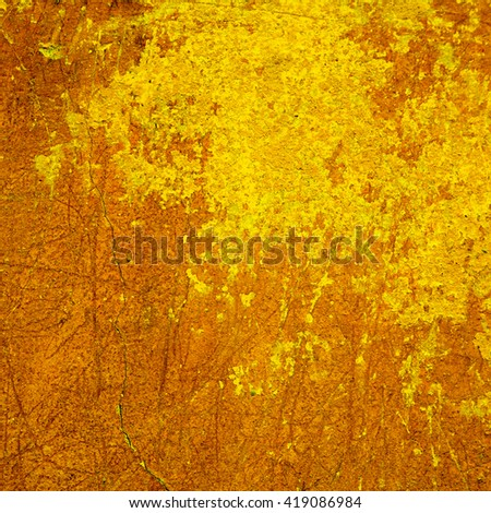 abstract orange background texture cement wall