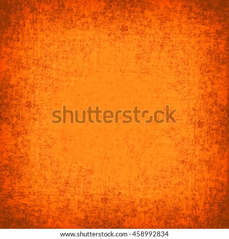abstract orange background texture gradient frame