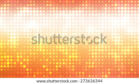 Abstract orange football or soccer backgrounds. Beautiful artistic flood lights.