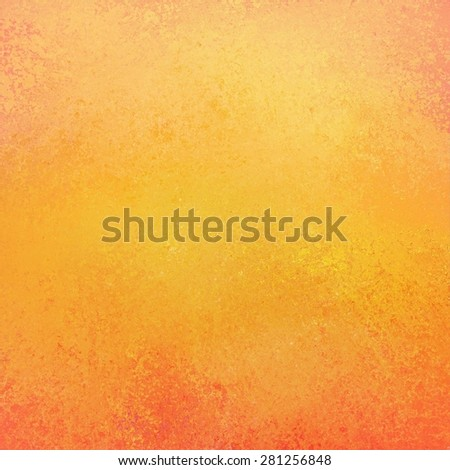 abstract orange gold background with vintage textured paint - stock photo