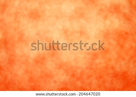 Abstract orange Halloween background - stock photo