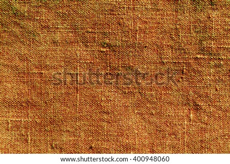 Abstract orange textile texture. Background and texture for design. - stock photo