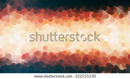 Abstract orange watercolor background. Illustration background with spots.