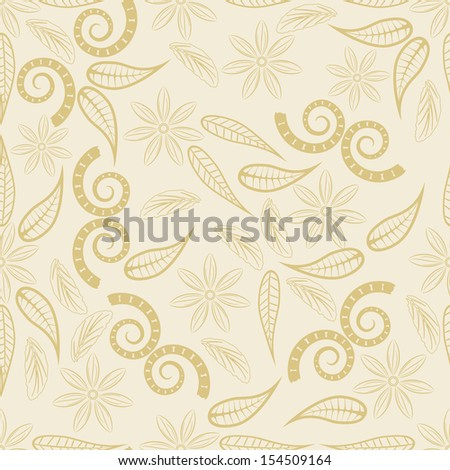 Abstract ornament background, seamless pattern, raster graphics.