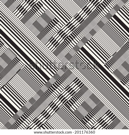 Abstract ornate striped textured background. Seamless pattern.