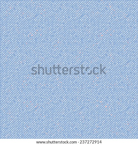 Abstract oxford fabric dot background. Seamless pattern. - stock photo