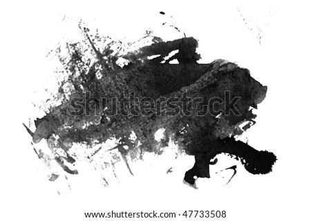 abstract paint - stock photo