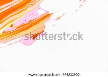 Abstract Paint Brush