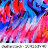 abstract paint design background - stock photo
