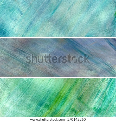 Abstract Painted Background - stock photo