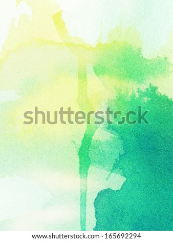 Abstract painted ink background - stock photo