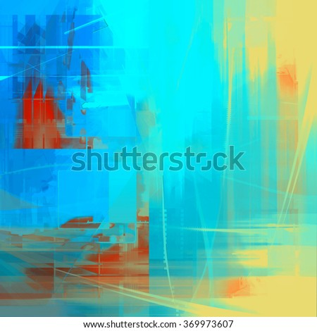 Abstract  painted stylized texture