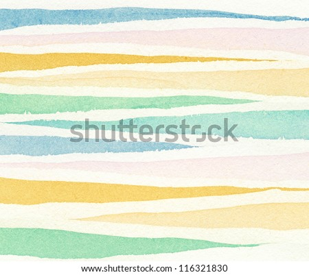 Abstract painted watercolor background. - stock photo