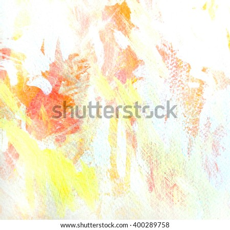 abstract painting for interior, illustration, background - stock photo