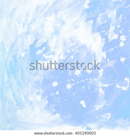 abstract painting for interior with white blots and spots, background